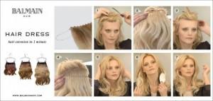 balmain hair dress hair